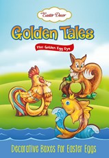 Golden Tales, Decorative Kit for Easter Eggs