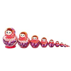 Big Family Matryoshka, 10pcs