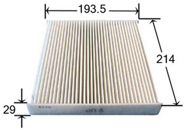 Ac108a cabin air filter for toyota v8 petrol landcrusier for Lexus is250 cabin air filter