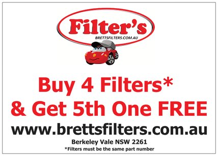 BUY 4 FILTERS AND GET THE FIFTH ONE FREE