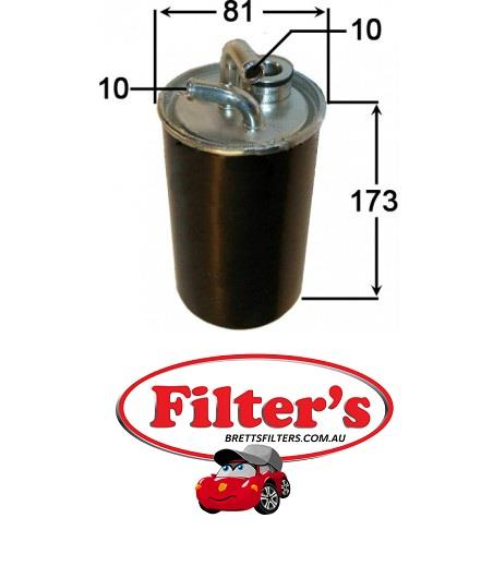 fsd53062 fuel filter chrysler sebring 2.0l crd 2l dodge journey dodge  avenger azumi fsd53062 chrysler 05166780aa dodge 5166780aa japanparts  fc-001s - truck parts and all filters hino isuzu fuso mitsubishi mazda  nissan  bretts filters