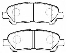 DB WD DISC PAD SET REAR TOYOTA KLUGER L V APRIL DBPM DB CDB CDBM DB DBHD GDB on mazda 323 4wd