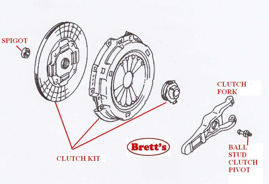 r0400n r0400 clutch kit isuzu npr nkr nkr57 npr57 1984 1987 4bc2 3 3 rh brettsfilters com au Isuzu Clutch Fork Assembly Isuzu Trooper Clutch Part Number