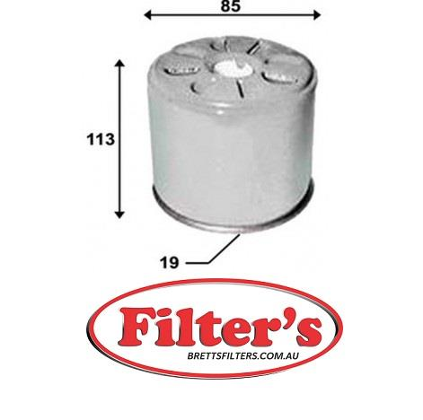 Genuine MAHLE Replacement Engine In-Line Fuel Filter KL 778
