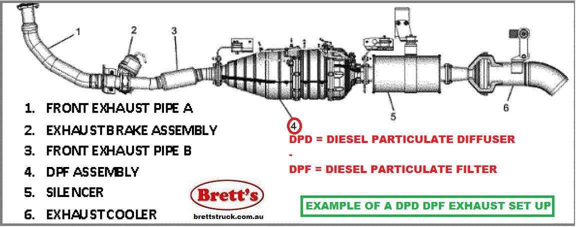 Spec 14802 201 Dpd Dpf Asm Assy Assembly Diesel