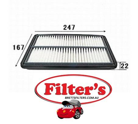 A21004 AIR FILTER FOR DAIHATSU Atrai DAIHATSU Hijet Grand Cargo DAIHATSU  Hijet-Atrai DAIHATSU Mira DAIHATSU Mira Gino DAIHATSU Move DAIHATSU Opti