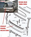 ZZZ MC351304 FRONT PANEL MITSUBISHI FUSO HEAVY  FRONT  APRON  PANEL BE439 BE437 ROSA 89-95 1989 1990 1991 1992 1993 1994