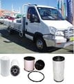 KIT5506 FILTER KIT IVECO NEW DAILY 3L 3.0L TURBO  2007- OIL FUEL AIR  35S14 45C15 45C17 45C18 50C17 50C18 65C17 65C18. Turbo Diesel. 4Cyl. F1CE0481. DOHC 16V