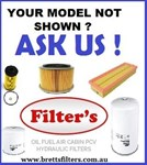 KIT42ZZ FILTER KIT TO SUIT YOUR MODEL UD TRUCK  NISSAN OIL AIR BY-PASS FUEL LUBE SERVICE KIT