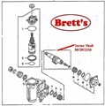 MC092336 SECTOR SHAFT STEERING BOX CANTER FE537 FE647 1996-5/1997 SUITS MC117852 STEER BOX GENUINE MITSUBISHI FUSO TRUCK PARTS BUY ON LINE SHOP ON LINE BRETTS TRUCK PARTS WE KNOW ITS THAT EAZY