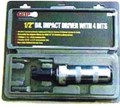 62020 Impact Driver with 4 Bits Ideal for loosening firmly tightened or rusted screws and bolts