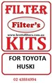 FILTER KITS FOR TOYOTA HUSKI