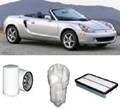KIT9035 FILTER KIT TOYOTA MR2 SPYDER - 1.8L PETROL ZZW30R MPFI - 2000-2006  OIL FUEL AIR  SERVICE LUBE SET KIT