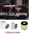 KIT9090B  FILTER KIT TOYOTA	XZB50R COASTER	BUS	4L N04C 	N04CT	4.0L	 8/2009-   OIL FUEL AIR  SERVICE LUBE SET KIT XZB XZB50