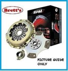 RPM1144N RPM1144 RPM ORGANIC LEVEL 1 CLUTCH KIT RPM a stronger more capable clutch upgradedPBR Ci HOLDEN  Commodore 1994-1997 VR11  5.0 Ltr EFi  incl HSV,Clubsport 5 speed     VS, 5.0 Ltr EFi 5L    incl HSV Clubsport   FREE SHIPPING* R1144N R1144