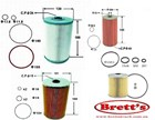 KIT228-110B  FILTER KIT ISUZU   OIL FUEL LUBE  FILTER FILTERS SET SERVICE KIT  EXY52 EXY 6WG1 6WG1-TC	15.7L	1996-2003  KT228-110
