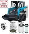 KITT503 FILTER KIT TO SUIT TOYOTA 5SDK5 Filter Kit SKID STEER TOYOTA HUSKI OIL AIR  FUEL LUBE SERVICE KIT   Toyota - 5SDK5
