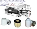 KIT9009 BRETTS FILTERS 4WD FILTER KIT RSK1 TOYOTA LANDCRUSIER HZJ70 HZJ HZJ78 HDJ78 HDJ HDJ79 HDJ80 HDJ80R HZJ73 HZJ75 HZJ79 HZJ80 PZJ PZJ70 PZJ73   OIL FUEL AIR FILTERS LUBE SET KIT K-11110