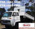 FSR 1984-1986 ISUZU TRUCK PARTS