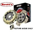 RPM121N-SSC LEVEL 3 CLUTCH KIT RPM PBR Holden EH HD HR HK 6 Cyl 3 Speed - non synchro first 08/63-04/69 1963 1964 1965 1966 1967 1968 1969 RPM121 RPM121N FREE SHIPPING* R0066N R66 R66N a stronger more capable clutch PBR