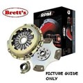 RPM0016N-SC RPM  LEVEL 4 CLUTCH KIT RPM SUBARU 1400 A64 4WD 1975- 1.4 Ltr 1.4L 1600 2WD Leone & Brumby AB2 1600 4WD Leone & L Series Brumby A67 clutch upgraded FREE SHIPPING* R0016 R0016N R16 R16N RPM16N RPM0016N