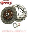 R0348N R0348 CLUTCH KIT HINO FF FF177 FF177K SOME  FF17*K            EH700    6.4L    1981-86    5 SPEED    WITH 33311-1700 BOX    STANDARD        13