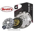 DMR1671N-1 CLUTCH KIT PBR Ci HOLDEN JACKAROO U8 02/1998-09/2004 3L 3.0 Ltr TDI 5 Speed 4JX1 UBS25 4WD 02/1998-09/2004 3L 3.0 Ltr ICTD 4JX  With Flywheel  REPLACES Dual Mass Flywheel  FREE SHIPPING*  DMR1671 R1671 R1671N GMK-7409SMF GMK7409SMF