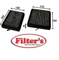 AC0184CSET CABIN AIR FILTER  SET KIT OF 2  MERCEDES-BENZ CLK-Class : CLK 220 Cabin May 05~Oct 09 2.2 L C209 OM 646  MERCEDES-BENZ CLK-Class : CLK 280 Cabin May 05~Oct 09 3.0 L C209 M 272.940