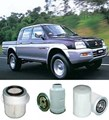 KIT3000 FILTER KIT MITSUBISHI TRITON DIESEL 4M40 10/1996-2006 2.8L   OIL FUEL AIR  LUBE SERVICE SET KIT  MK13560