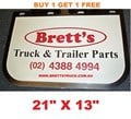 MUD0003 *BUY 1 & GET 1 FREE* GENUINE BRETTS TRUCK PARTS MUDFLAPS  13