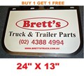 MUD0004  *BUY 1 & GET 1 FREE* GENUINE BRETTS TRUCK PARTS MUDFLAPS  13