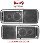 86120-SP01 12V 24V 95W 95 WATT 3 WAY BOX SPEAKER 1 PAIR SPEAKERS 12/24V RADIO  24 VOLT 12 VOLT MULTIVOLT