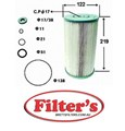 OE621J OIL FILTER FOR HINO TRUCK FU Eng.Lub.Sys Dec 83~Feb 90 16700 CC FU634AA EF750  Eng.Lub.Sys Dec 83~Mar 90 16700 CC FU63# EF750  Eng.Lub.Sys Mar 90~May 92 17000 CC FU2FPAA F17E  Eng.Lub.Sys Sep 93~Feb