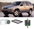 KIT6023 FILTER KIT MAZDA TRIBUTE   3L 3.0L V6 2001-  Petrol  AJ  MPFI  DOHC 24V OIL FUEL AIR FILTER SERVICE SET KIT   V6 3.0L 2001-2006 YU08  AJ MPFI  DOHC 24V