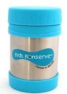Kids Konserve Stainless Steel insulated food jar (thermos) Sky Blue