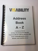VisAbility Large Print Address Book
