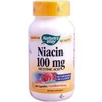 Nature's Way Niacin 100mg Nicotinic Acid 100 Capsules