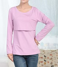 Long Sleeve Nursing Breastfeeding Top