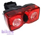 Tioga / X-Tech Owl Dual Eyes Rear Light USB RECHARGEABLE