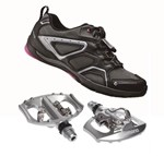 Shimano CW40 + A530 | Cycling Commuter Shoe & Pedal Combo