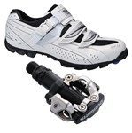 Shimano WM62 / Shimano M520 Ladies Mountain Shoe/Pedal Combo - CLEARANCE