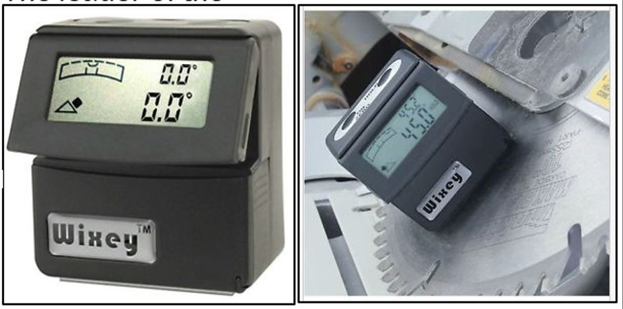 The Wixey WR365 Digital Angle Gauge with Level