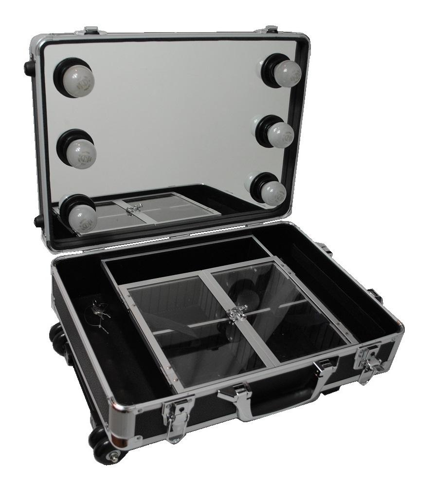Makeup Artist Travel Case With Lights