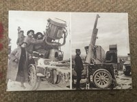 Collection of Antique Military Historic WWI 1915-16 French Photograph Postcards