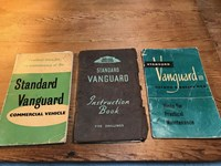 Collection 3 Instruction Manuals on Standard Vanguard Saloon & Car 1951-52