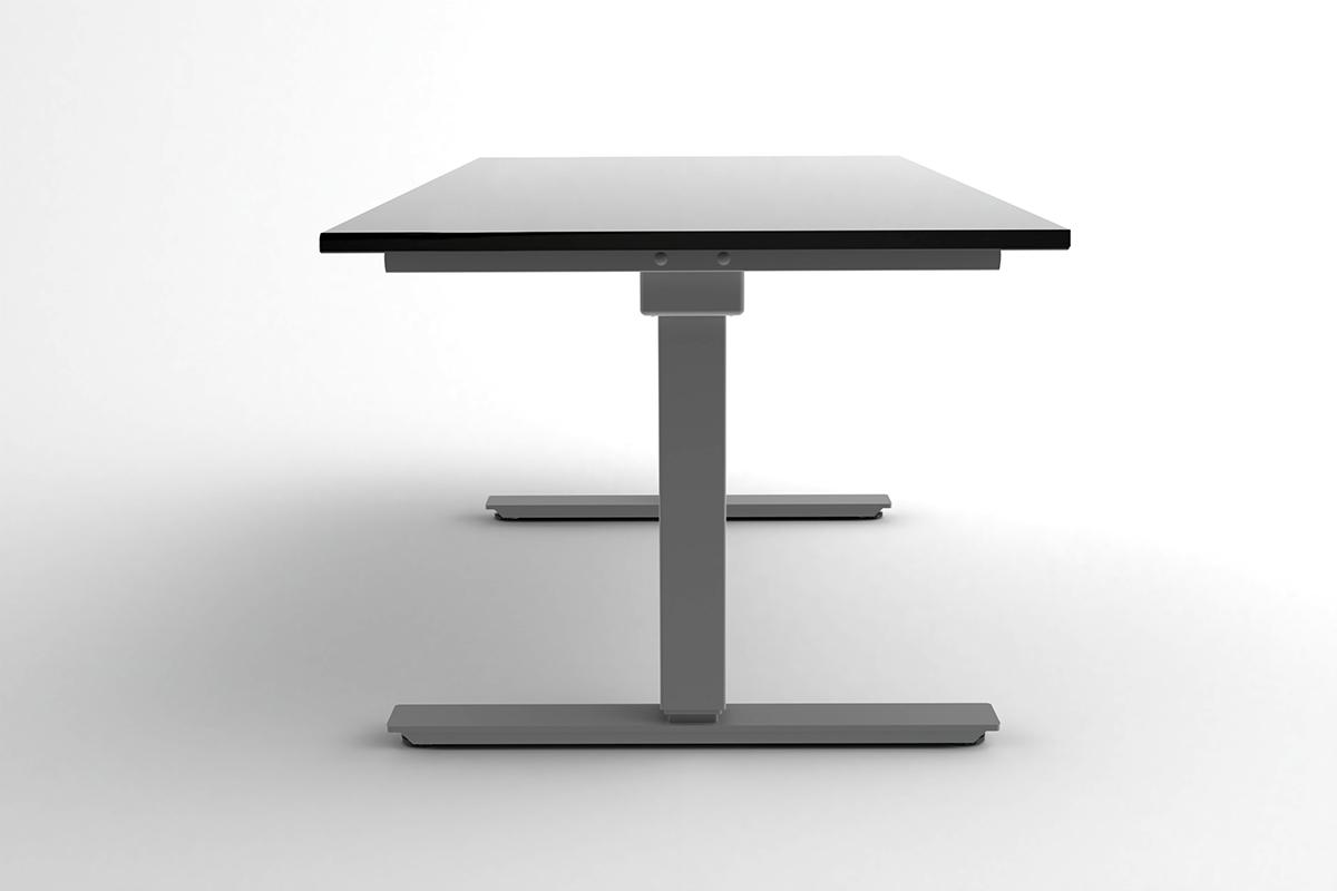 Picture of: Electric Sit Stand Height Adjustable Desk With Custom Made Tops Your Finish Your Size Office Furniture Store Office Furnitures Office Chairs