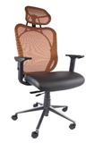 Manly office chair with head rest