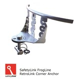 STAT.FROGRET003 : SAFETYLINK FrogLine Horizontal Lifeline RetroLink Single Corner