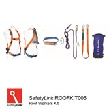 Roof Workers Kit SPANSET Roofers Safety Kit with 20m rope line.