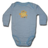 Monster Long Sleeve Romper/Onesie - Baby Boys & Girls Clothes